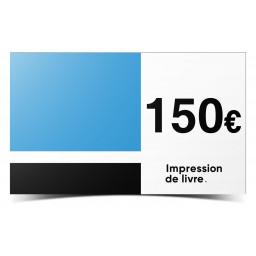 Chèque cadeaux 150€